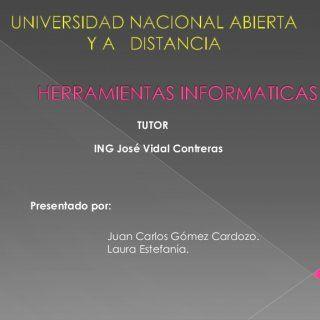 TUTOR ING José Vidal Contreras Presentado por: Juan Carlos Gómez Cardozo. Laura Estefanía.    Es un sitio web que ofrece a los usuarios la posibilidad de. http://slidehot.com/resources/herramientas-informaticas-slideshere.37282/