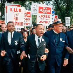 """life:  """"Civil Rights leader Martin Luther King Jr. was born 88 years ago today on January 15, 1929 in Atlanta, Georgia. He is pictured here at the March on Washington for Jobs and Freedom in Washington D.C. in 1963. (Robert W. Kelley—The LIFE Picture..."""