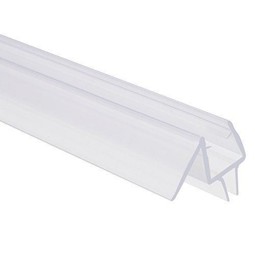 Shower Door Seal Frameless Silicone Bottom Sweep Clear Snaps On