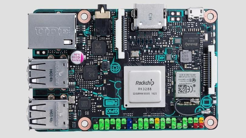 Asus Launches $60 4K-Capable Tinker Board Computer | Raspberry ...
