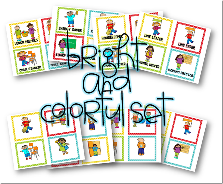 Super cute classroom job cards to use in your classroom. Goes along with the Classroom Job application. Free download.