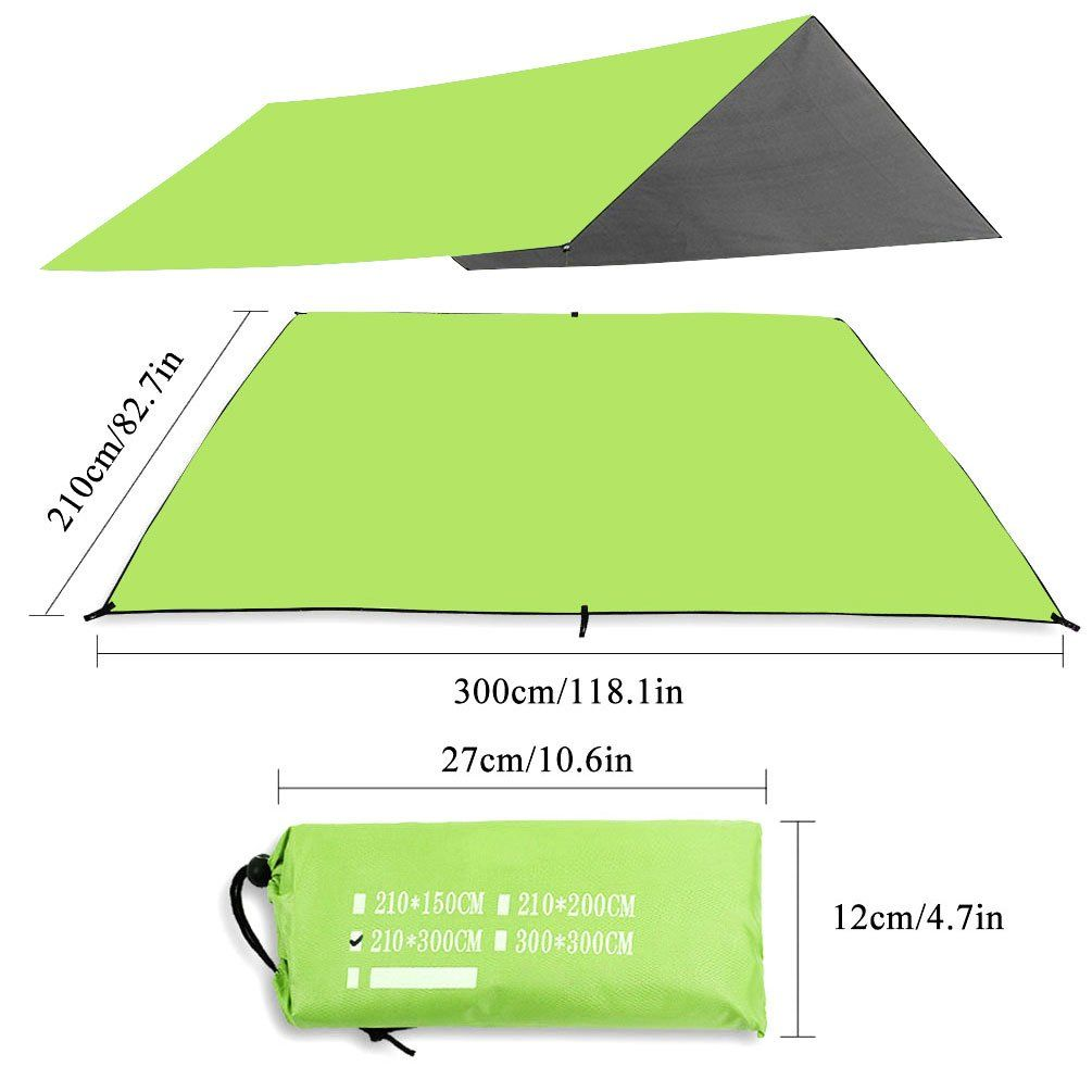 Outdoor Waterproof C&ing Tent Footprint Groundsheet Blanket Mat for Outdoor Picnic C&ing Mat Beach Tent Awning Sleeping Pads Green (82.7 118.1).  sc 1 st  Pinterest & Outdoor Waterproof Camping Tent Footprint Groundsheet Blanket Mat ...