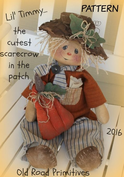 ***NEW***+Lil+Timmy+the+Cutest+Scarecrow+in+the+Patch+Pattern