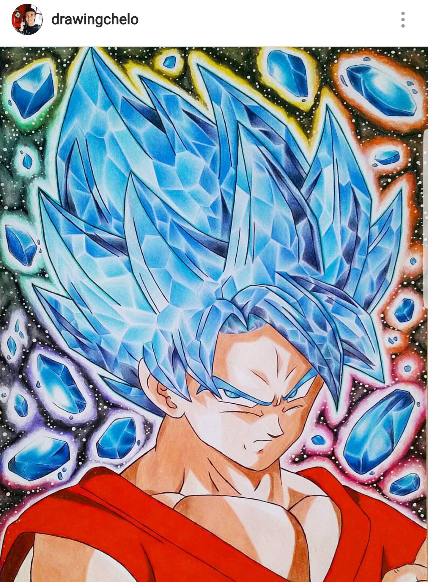 Ssb Goku Anime Dragon Ball Super Dragon Ball Art Dragon Ball Goku