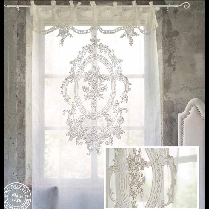 tende shabby chic cucina  Cerca con Google  Curtains  Curtains Farmhouse curtains e Curtains walmart