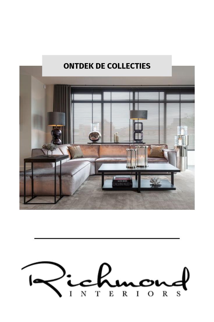 STIJLVOLLE MEUBELS & WOONACCESSOIRES | Richmond Interiors #woonaccessoires Richmond Interiors is leverancier van stijlvolle meubels en woonaccessoires voor een luxe, elegant interieur. Ontdek de verschillende collecties! #woonaccessoires