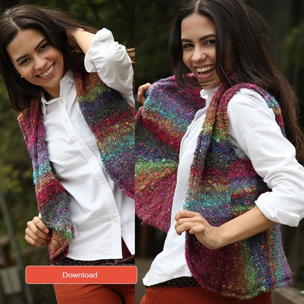 Free Noro Waistcoat Pattern Knitting Patterns Patterns And Free