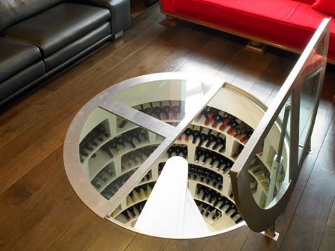 Your Own Secret Basement Wine Cellar With Trap Door Entry Wine