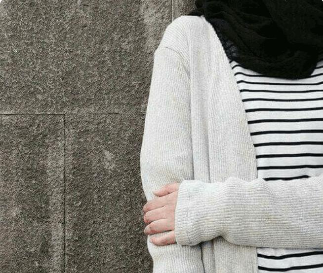 Yeni Arkasi Donuk Kapali Tesetturlu Kiz Profil Resimleri Hijab Profile Pictures Casual Hijab Outfit Moda Stilleri Hijab Chic
