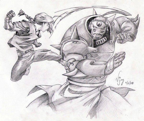 Fullmetal Alchemist Brothers by vjvarada.deviantart.com on ...