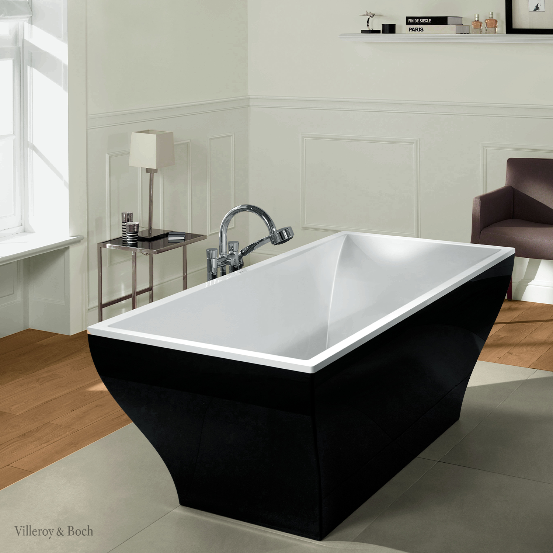 Your Freestanding Bathtub Can Be Black Too Badezimmer Design Romantisches Bad Luxus Badezimmer