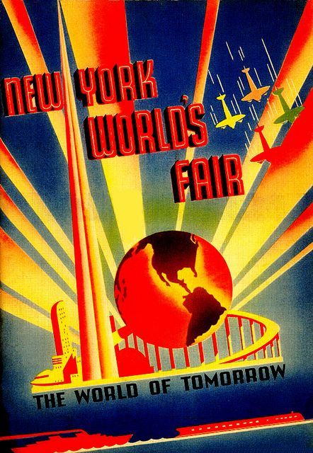 24x36 1939 New York World/'s Fair Classic Vintage Style Travel Poster