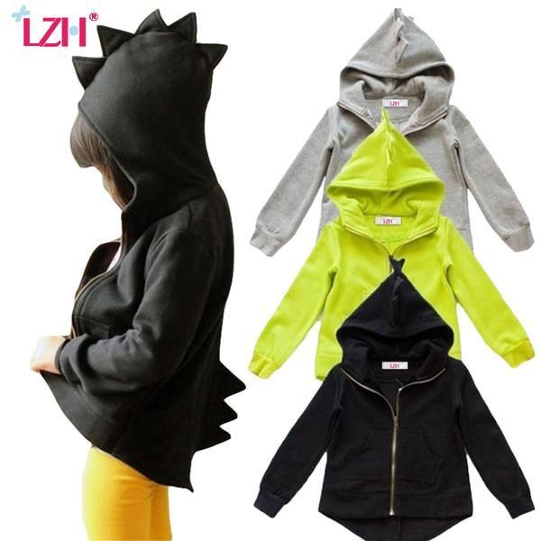 018fbb243 Jacket For Girls Boys Dinosaur Coat Baby Boys Jacket Kids Infant ...