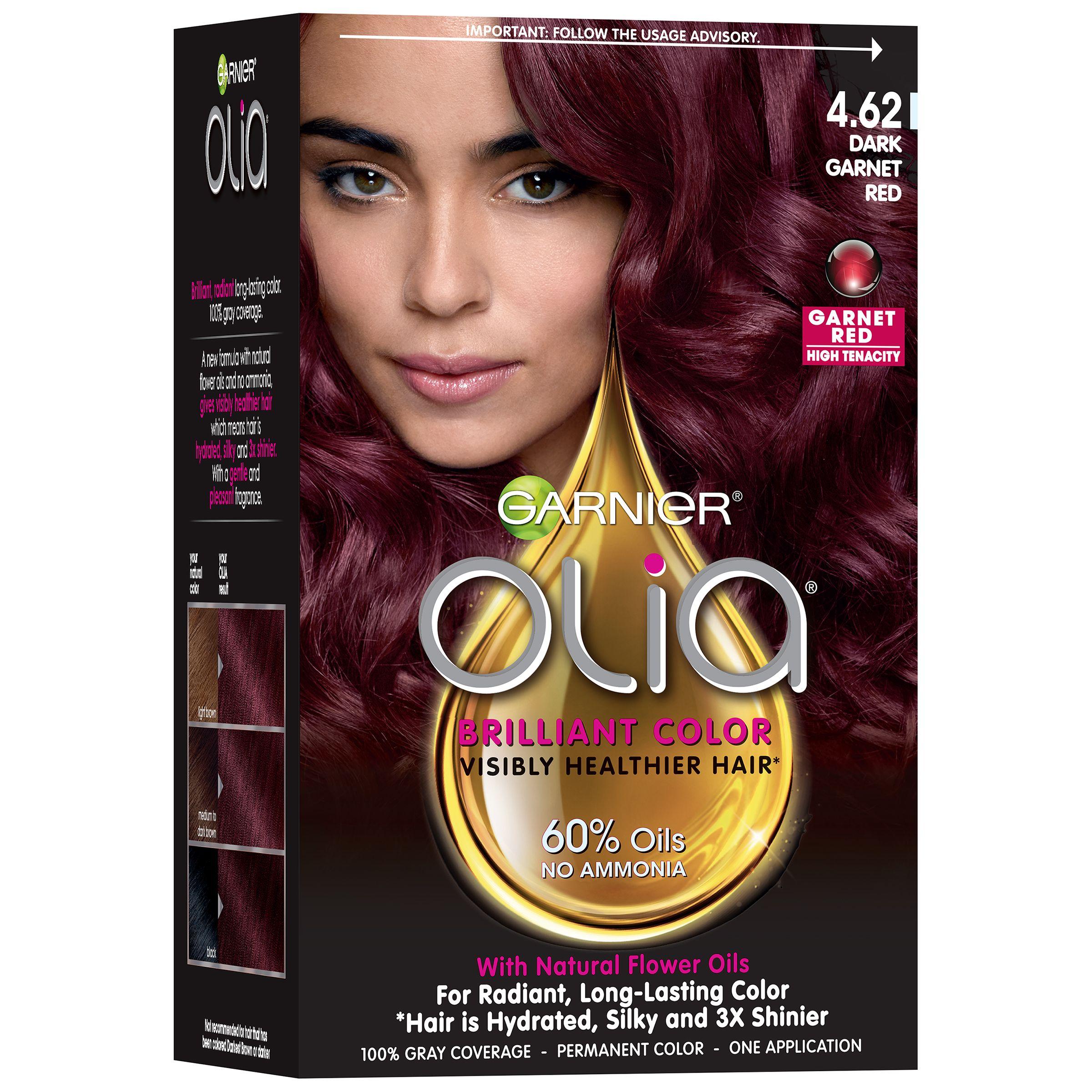 Garnier Olia - a palette of beauty of hair