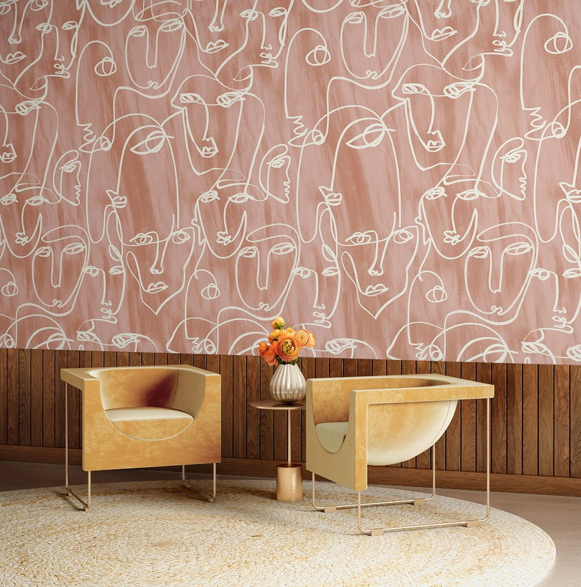 Pin On Trending Wallpaper Interior Design