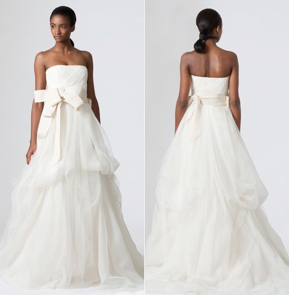 Vera Wang - Dinah gown available @ #Nordstrom #Wedding Suite ...