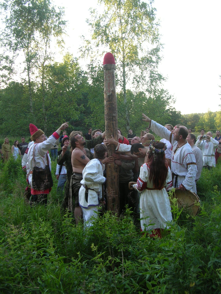 Rodnovery is the ethnic Neopagan religion of the Slavic populations. It's emerging in various forms in the Slavic world; its adherents are called: Rodnovers, Ridnoviry, Rodzimowiercy and many other names.