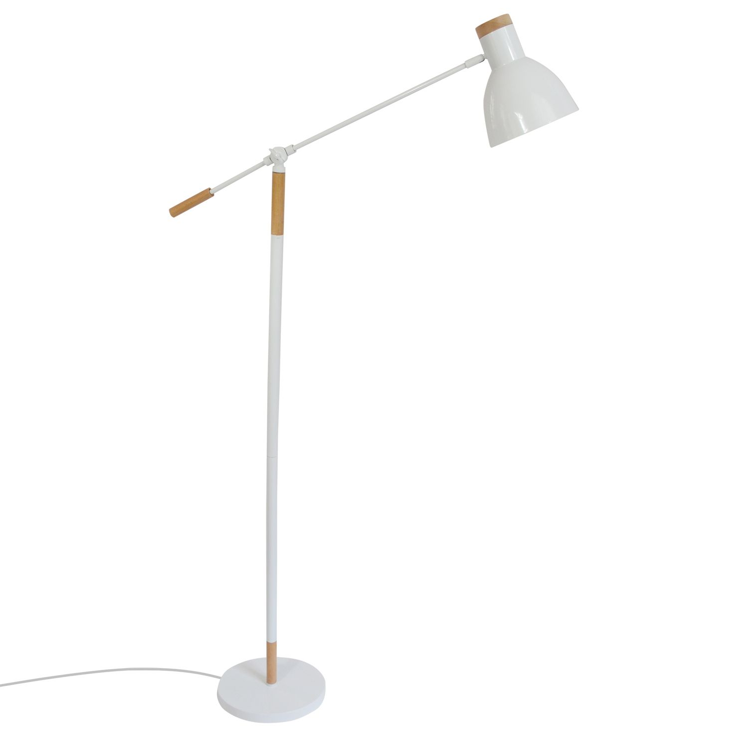 COPENHAGUE - Liseuse Blanc | Lampadaire Marbella Lighting designé par Marbella Lighting | LightOnline