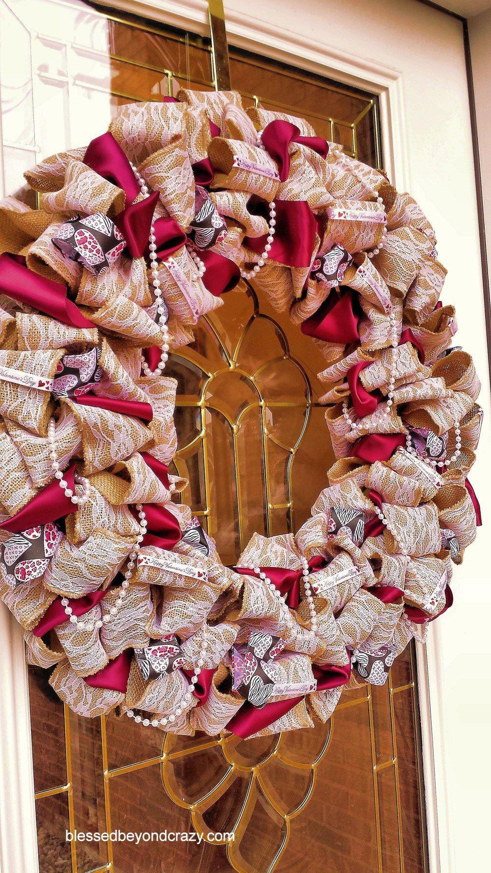 Burlap Wreath 28