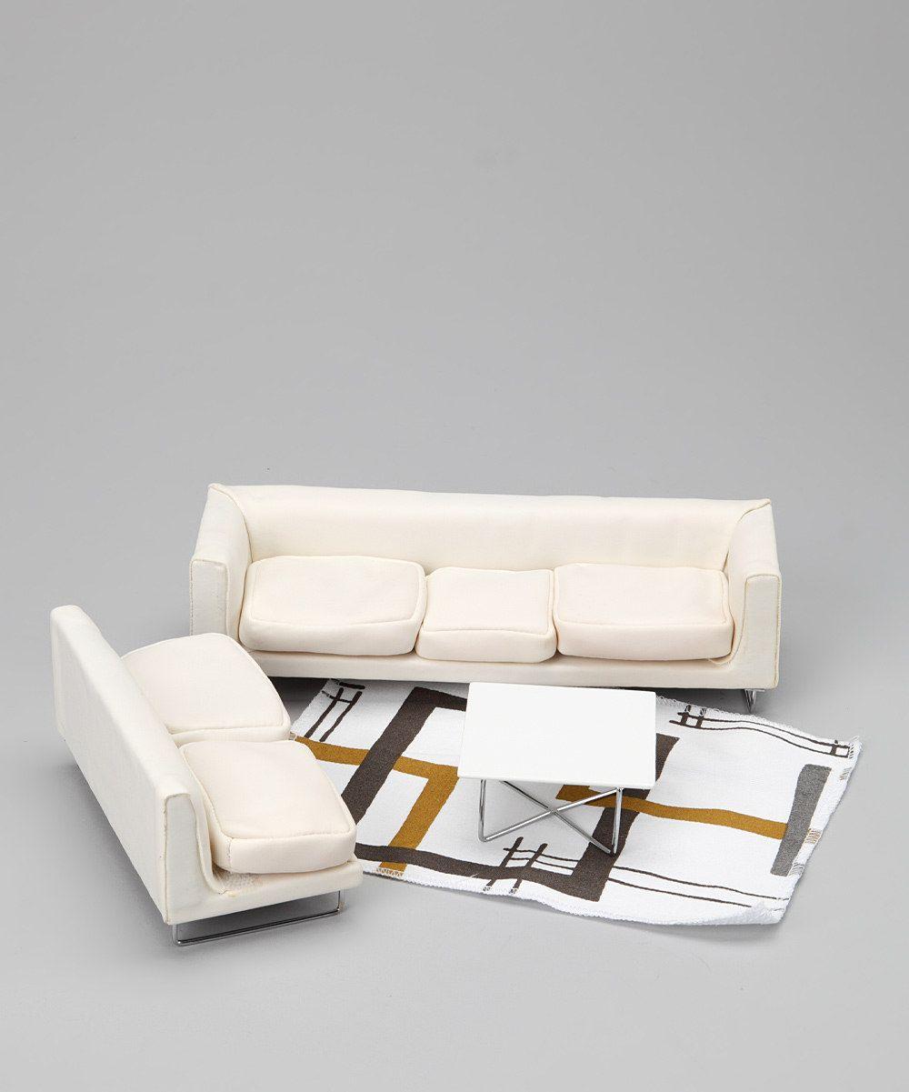 Jasper Morrison Living Room Doll Furniture Set on Zulily   patterns ...