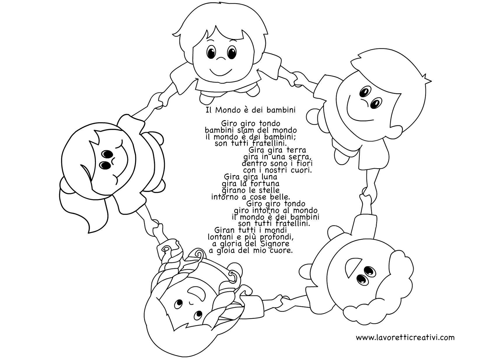 Poesie per la fine dell39 anno scolastico poesie filastrocche for Maestra gemma diritti dei bambini