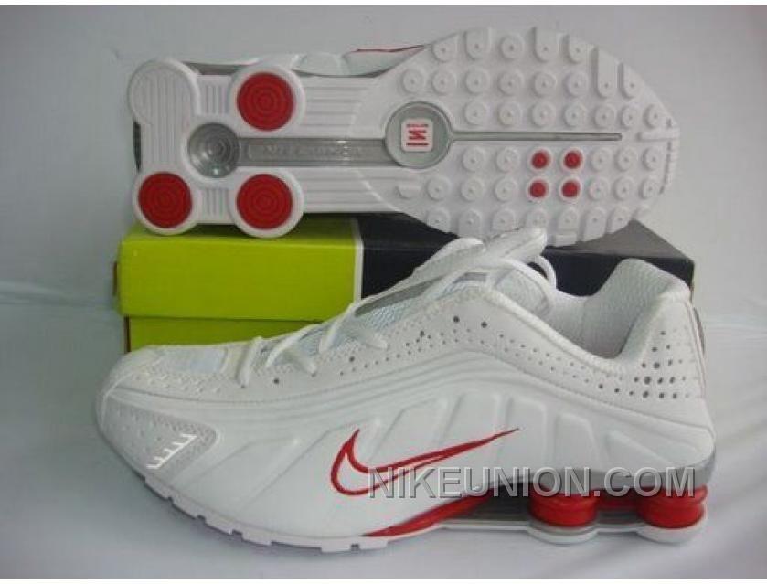 6da760e65f11fb http   www.nikeunion.com nike-shox-r4-ordinary-white-grey-red-new ...