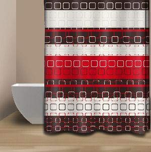 Nice Red And Brown Shower Curtain   Google Search