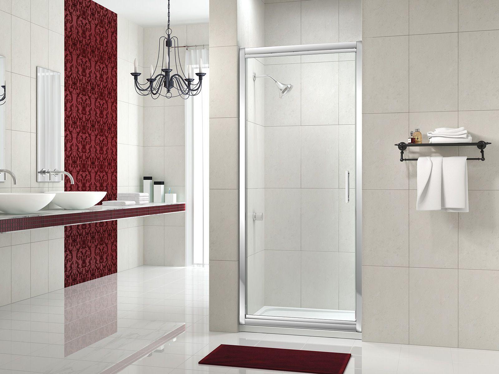 Infold Door | Pinterest | Shower doors, Bath screens and Shower ...