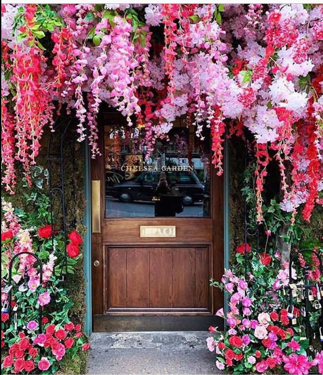 Pin by Susan Cramer on Doors Chelsea garden, The ivy