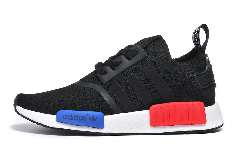 29aa6243c casual shoes ventilated Original Fashion Adidas NMD Runner 2016 Core Black  White Royal Red Shoe