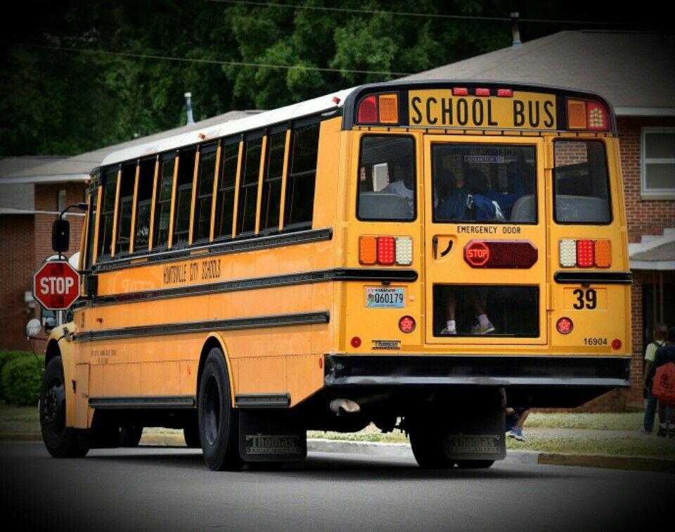 thomas built saf t liner c2 school bus for huntsville city schools thomas built saf t liner c2 school bus for huntsville city schools in alabama