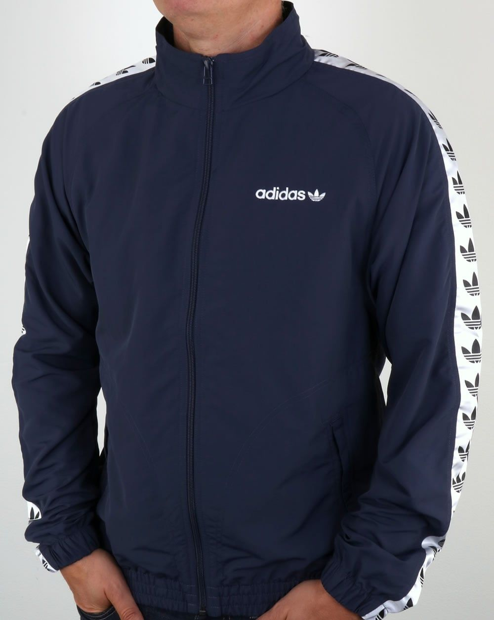 Adidas Originals TNT Tape Wind Jacket Trace BlueWhite