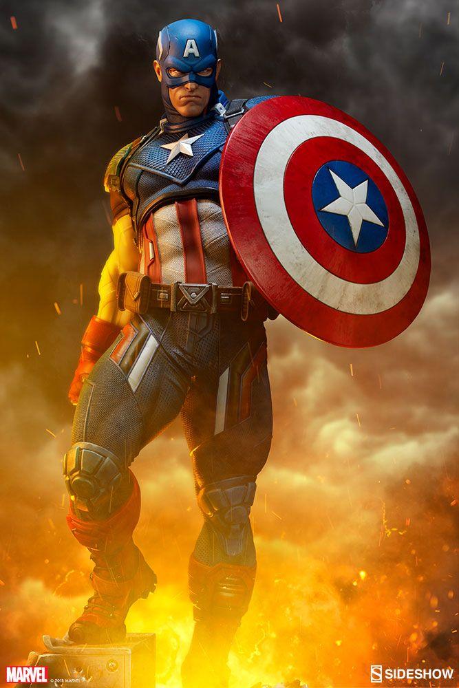 Marvel Captain America Premium Format(TM) Figure by Sideshow