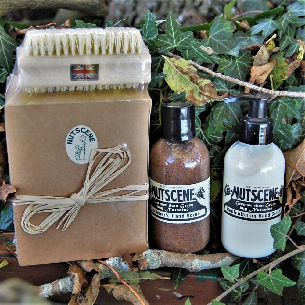 Gardener hand care gift set, made in uk, 100 natural