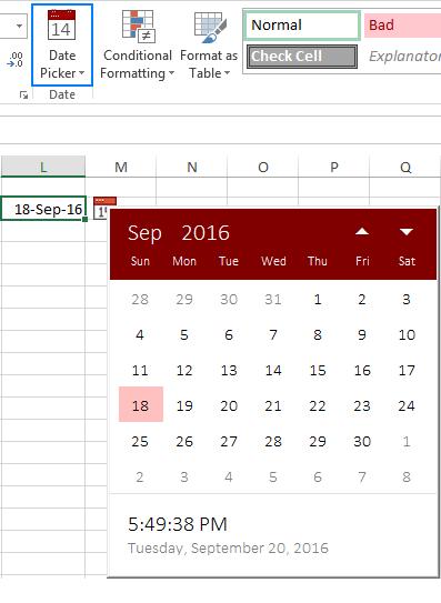 Excel Date Picker Excel Calendar Template Excel Templates Excel Calendar