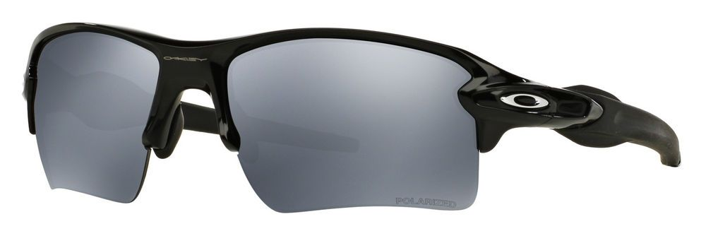 26ce474f071 Oakley Oo9188 Flak Jacket 2.0 XL Polished Black Polarized Sunglasses   fashion  clothing  shoes