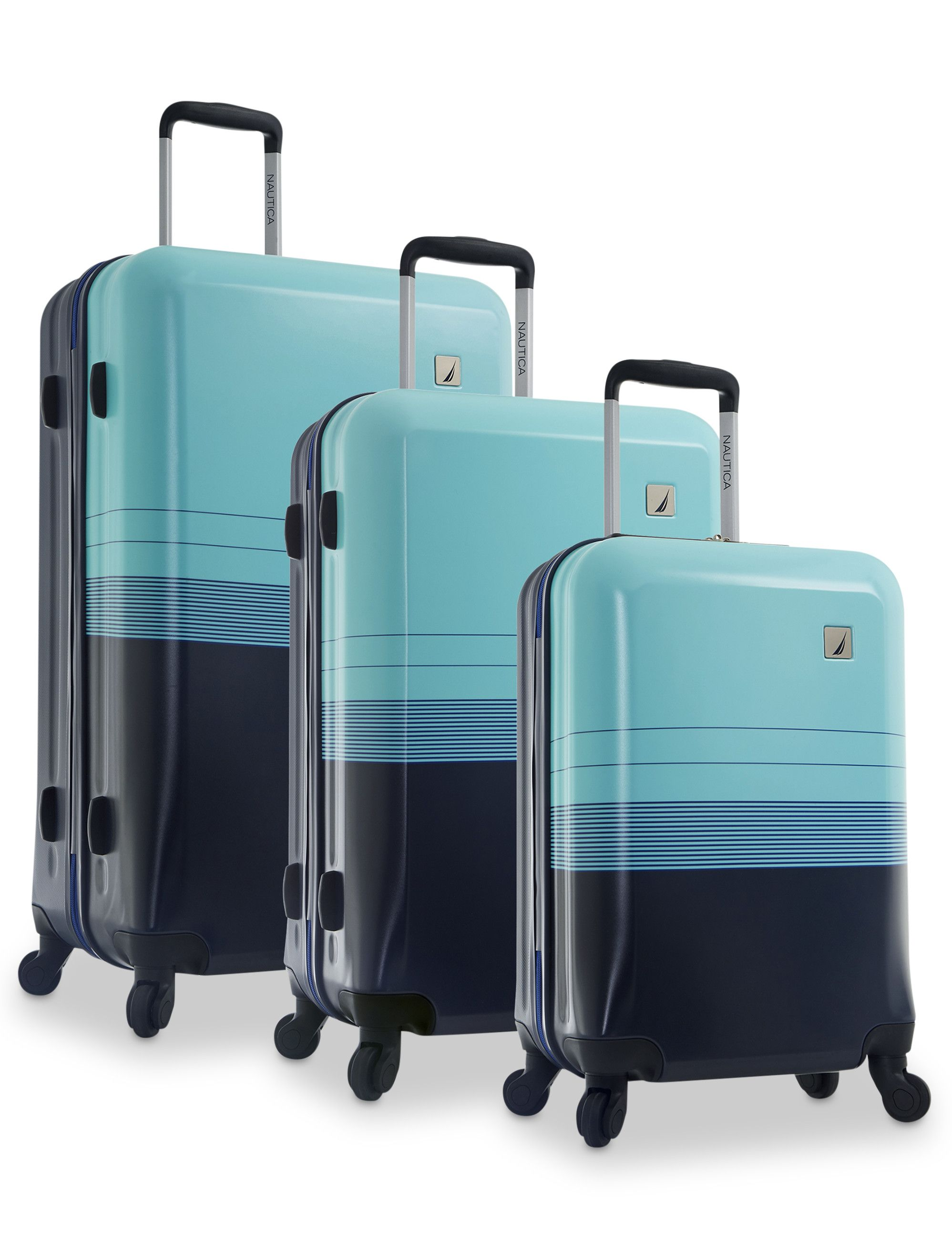 295f0fd713b8 Nautica® 3-Piece Hardside Luggage Set | Details | Hardside luggage ...