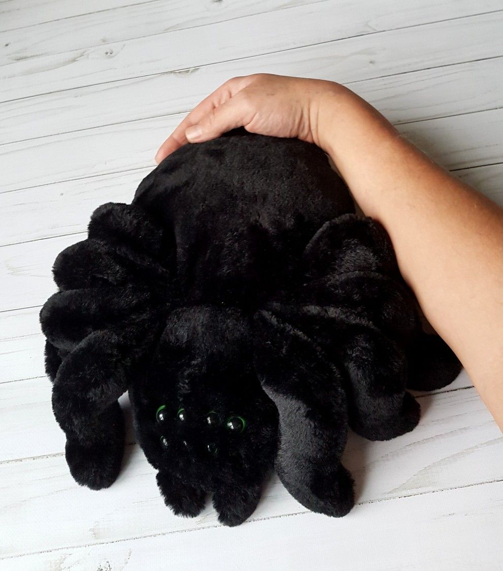 Big Plush Spider Huge Spider Great Toy Spider Cute Tarantula