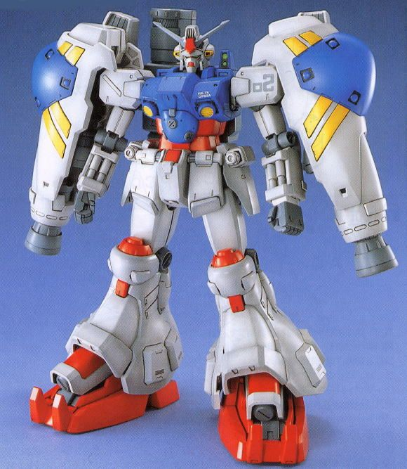 One Of My All Time Favorite Gundams Ever, The GP02. It Has