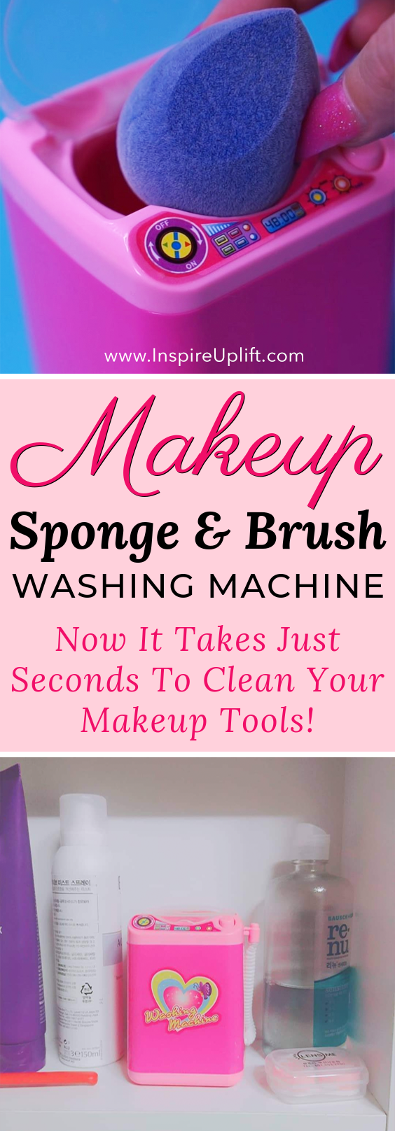 Makeup Sponge & Brush Washing Machine 😍 is part of Portrait drawings Tips Sketches - Portrait drawings Tips Sketches