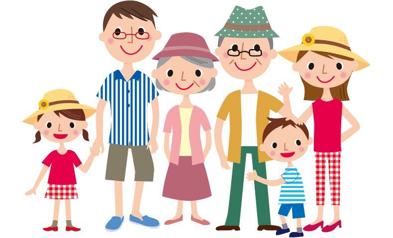 トップセレクション 家族 の イラスト 無料 無料 イラスト
