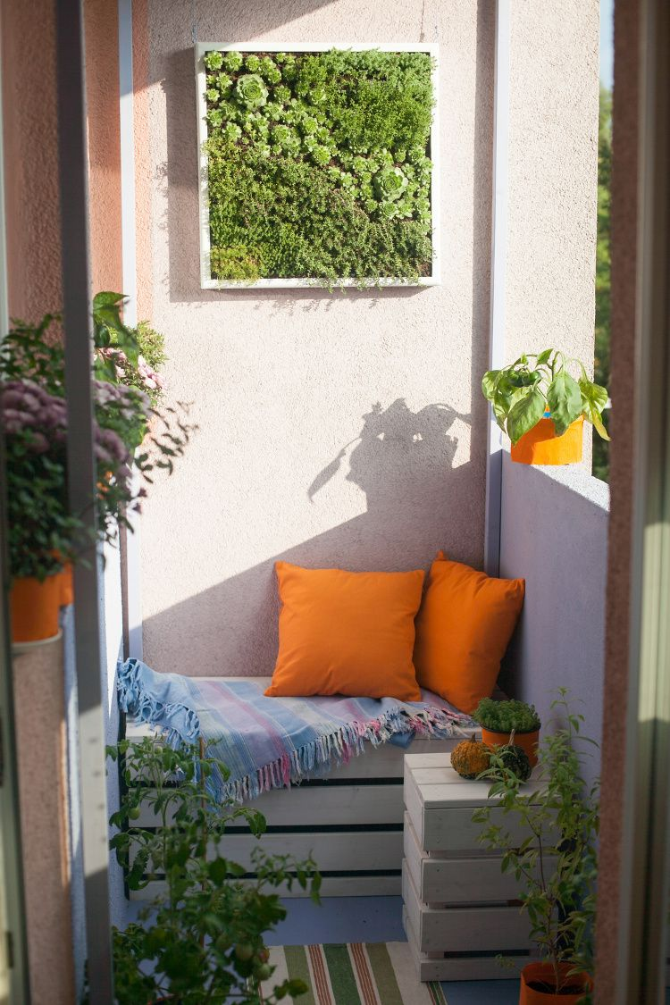 Idées amenagement balcon | Balcons | Pinterest | Balcons ...
