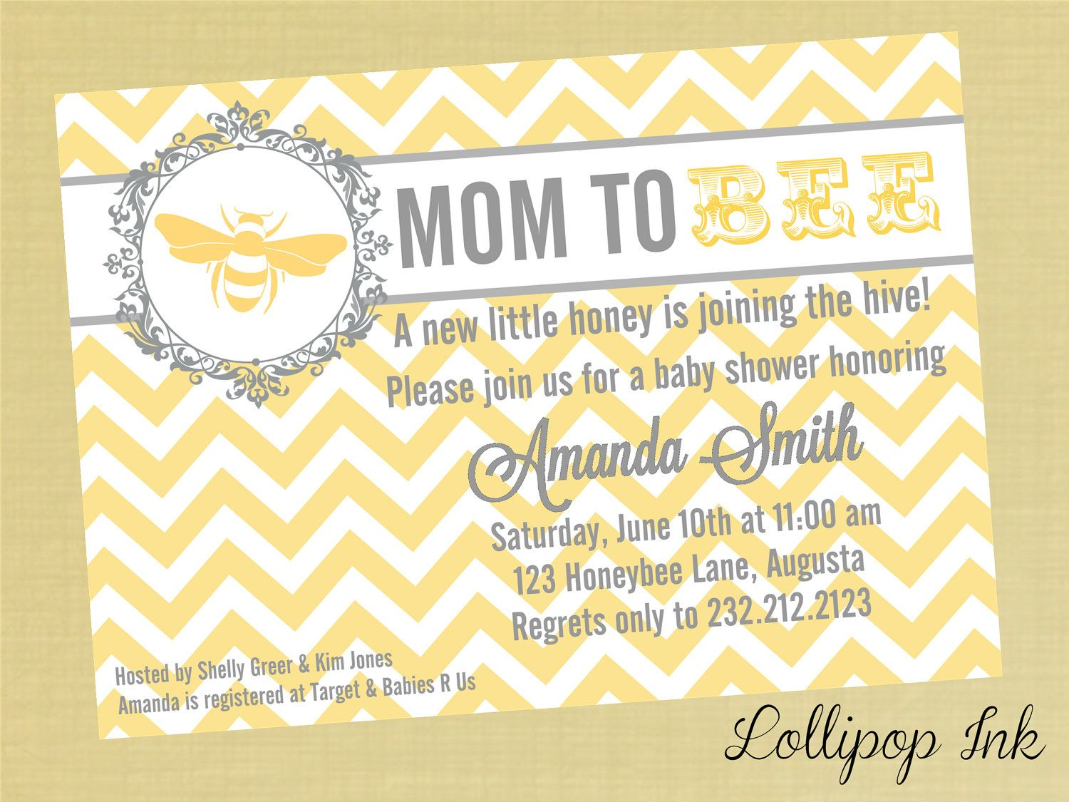 Mom to bee invite how adorable i love this baby shower ideas baby shower mom to bee yellow chevron printable invitation personalized mom to bee baby shower invite chevron print baby shower invite filmwisefo Choice Image