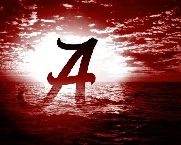 Alabama Football Logo Roll Tide 26905 Hd Wallpapers Wallsick Roll Tide Alabama Wallpaper Alabama Crimson Tide Football