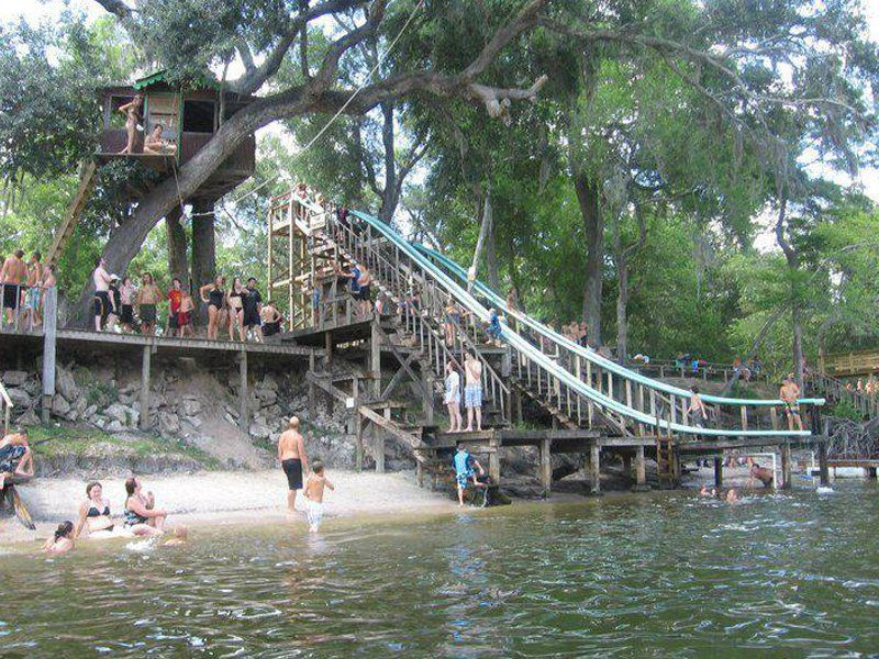 Bob's River Place is OldFlorida Fun on the Suwannee River is part of Bobs River Place Is Old Florida Fun On The Suwannee River - a>, but hidden on the Suwannee River is a unique swimming hole that's known by locals as pure, oldFlorida fun  This hidden gem is the kind of fun that childhood memories are made of, not to mention a great way to cool off in the summer