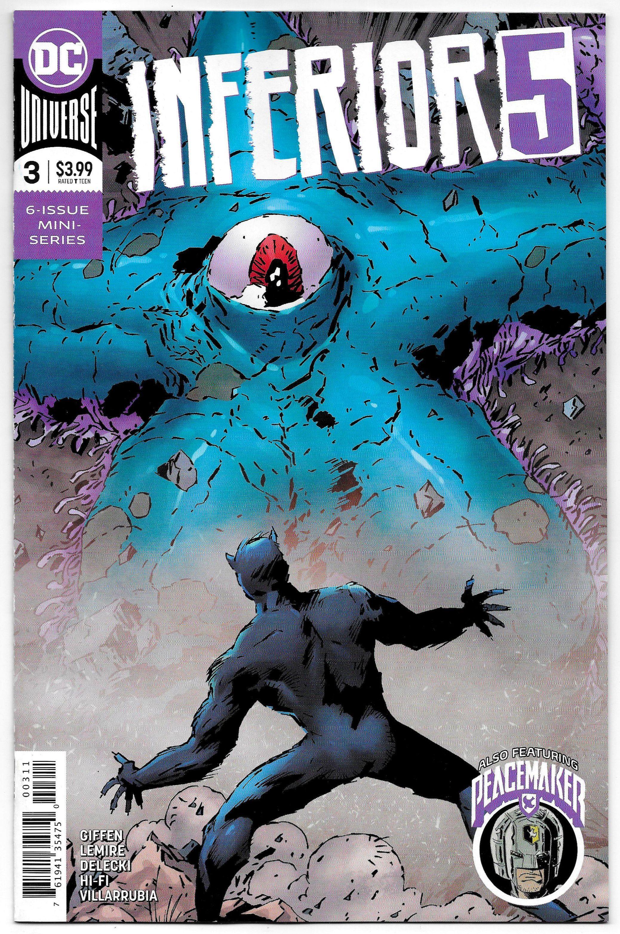 Inferior Five 3 Peacemaker (DC, 2020) NM Comics, Comic