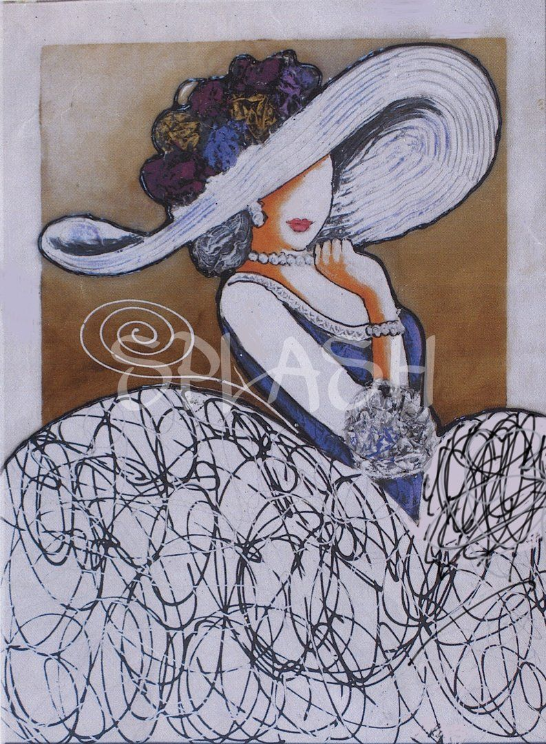Pamela malva sp455 cuadros modernos cuadros meninas for Cuadros salon baratos