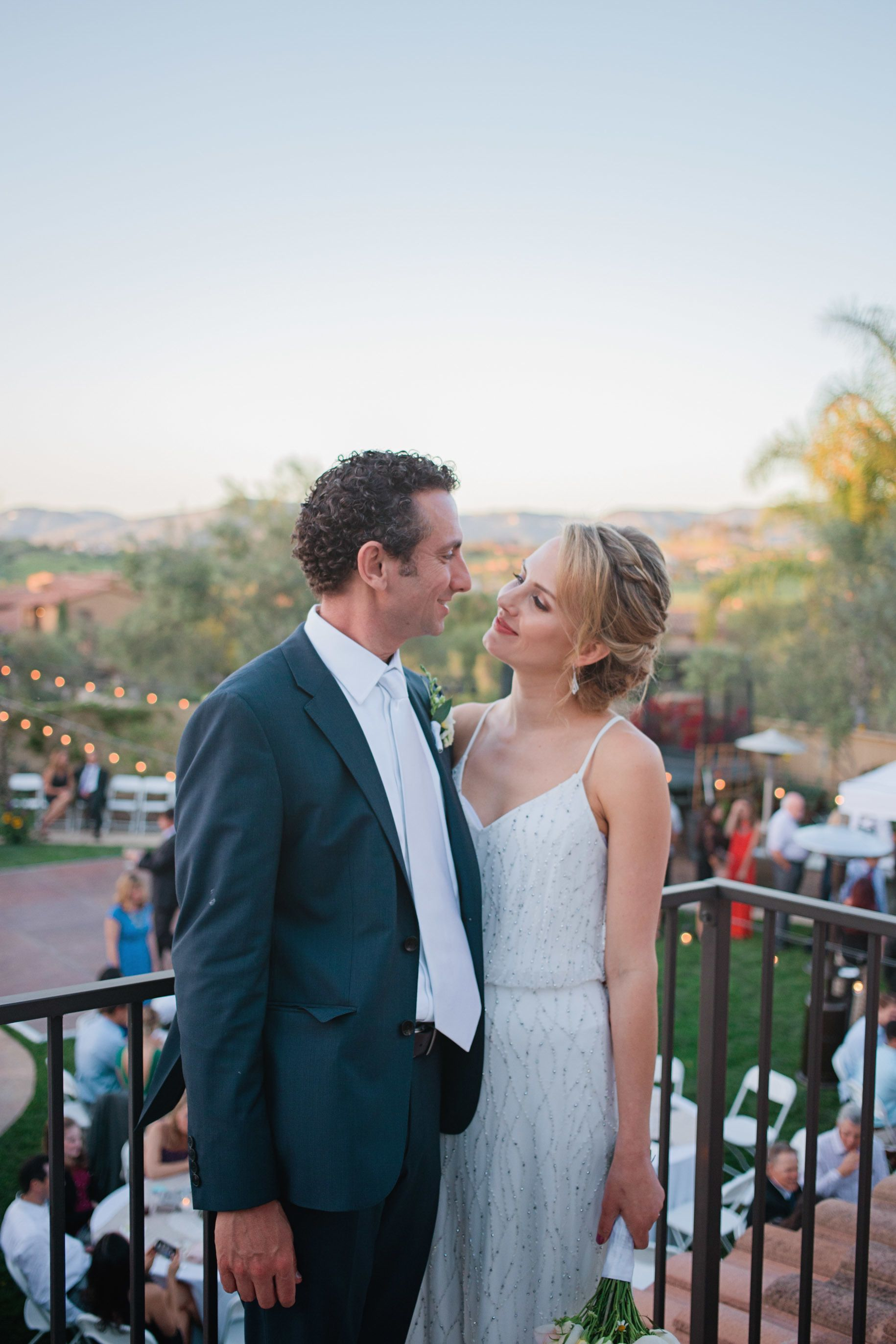 from paul and ellie u0027s adorable backyard wedding backyardwedding