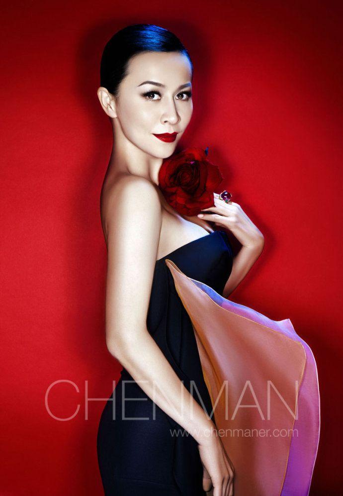 刘嘉玲 - Carina Lau by photographer Chen Man