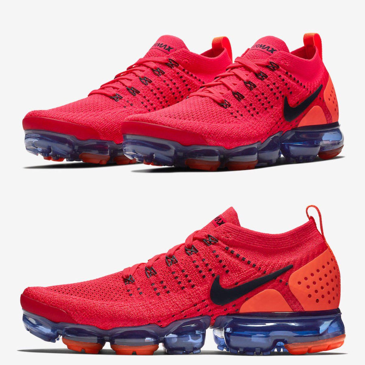 """huge selection of 5f0e7 517ff Nike Vapormax Flyknit 2 """"Spiderman"""" Style Code: AR5406-600 ..."""
